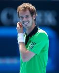 Andy Murray appears at Rally for Relief on Rod Laver Arena..International Tennis - Australian Open - Melbourne Park - Melbourne - Qualifying - Sun 16th January 2011..© Frey - AMN Images, Level 1, Barry House, 20-22 Worple Road, London, SW19 4DH.Tel - +44 208 947 0100.Email - Mfrey@advantagemedianet.com.Web - www.amnimages.photshelter.com