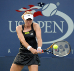 US Open 2010 D3 010910.Elena Baltacha (GBR) in second round match..Photo Anne Parker Fotosports International