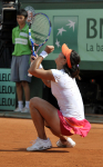 French Open 2011 04/06/11 D12.La Ni (CHN) wins Ladies Final .Photo Anne Parker Fotosports International