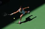 Tennis Femmes. Open d'Australie 2004 Melbourne. Du 19 Janvier au 1er Fevrier 2004. Am?©lie Mauresmo.le 19/01/04 photo: Corinne Dubreuil