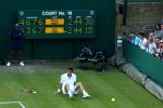 Wimbledon, Mahut versus Isner, 2010.Photo: Ella Ling.
