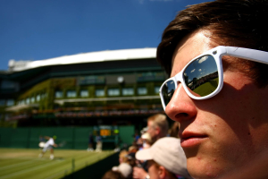 Ambience at Wimbledon 2010.Photo: Ella Ling.