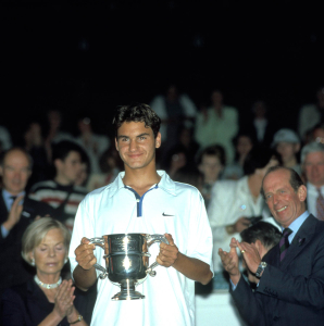 Wimbledon 1998..The Boys Champion Roger Federer(Sui).
