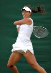 Wimbledon, Monday 02/07/2007 ..Ana IVANOVIC(Srb)..