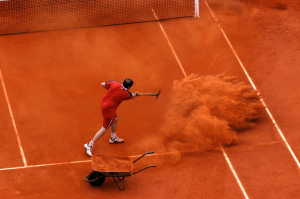 ROLAND GARROS 2004..Photo RAY GIUBILO