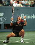 US OPEN 1997..PAT RAFTER WINS HIS FIRST GRAN SLAM TITLE...PHOTO RAY GIUBILO