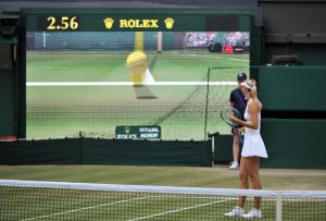 Wimbledon, 2/07/2011..2011 Wimbledon ladies Champion Petra KVITOVA (CZE) defeated Maria Sharapova(Rus) 6-3 6-4.Photo Ray Giubilo.....
