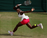 Wimbledon 2010,Sport, Tennis, ITF Grand Slam Tournament, Damen Semi Finale, Serena Williams (USA)..Foto: Juergen Hasenkopf..