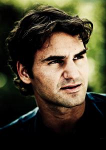 Dubai Tennis Championships 2011, ATP Tennis.Turnier, International Series, Dubai Tennis Stadium,.U.A.E. Roger Federer (SUI), Pressekonferenz,.Portrait,