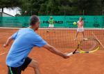 Hannes Zischka Tennis in Umag,Kroatien