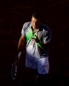 Jo-Wilfred TSONGA (FRA) (17) against Igor ANDREEV (RUS) in the 2nd round of the men's singles. Jo-Wilfred Tsonga beat Igor Andreev 6-3 7-6 6-3..Tennis - Grand Slam - French Open - Roland Garros - Paris - Day 4 - Wed May 25th 2011..© AMN Images, Barry House, 20-22 Worple Road, London, SW19 4DH, UK..+44 208 947 0100.www.amnimages.photoshelter.com.www.advantagemedianetwork.com.