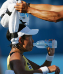 DATE KRUMM.Kimiko (JPN) lost to AZARENKA,Victoria(BLR).1-6 7-5 5-7 2nd RD.2010 MEDIBANK INTERNATIONAL .12 January 2010 .Sydney Olimpic park Tennis Center.SYDNEY AUSTRALIA.Photographer / Hiromasa MANO .(mannys@attglobal.net).....