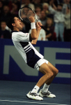 TIM HENMAN (GBR) 02/04/99 DAVIS CUP BIRMINGHAM GB V USA PHOTO ROGER PARKER FOTOSPORTS INTERNATIONAL