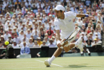 3/7/2010 WIMBLEDON MENS FINAL.RAFAEL NADAL V NOVAK DJOKOVIC BY DAVE SHOPLAND .
