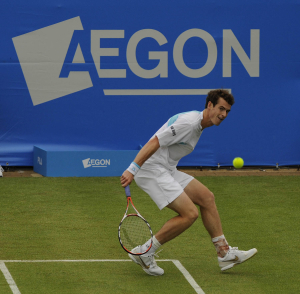 AEGON TENNIS CHAMPIONSHIPS.QUEENS CLUB.LONDON.10/6/2009.ANDY MURRAY BEATS ANDREAS SEPPI IN STRAIGHT SETS.PICTURE DAVE SHOPLAND/AEGON.FREE RIGHTS.NO FEE FOR PUBLICATION