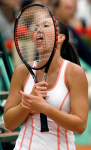 JELENA JANKOVIC (SRB).JUNE 7th 2007.FRENCH OPEN AT ROLAND GARROS.PARIS