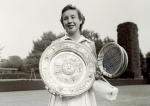 "MAUREEN CONNOLLY (""LITTLE MO"") (USA) WIMBLEDON CHAMPION 1954"