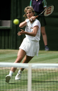 CHRIS EVERT (USA), THE CHAMPIONSHIPS WIMBLEDON 1988