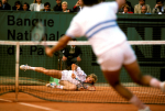 BORIS BECKER (GERMANY) FRENCH OPEN PARIS 1988