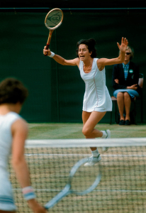 VIRGINIA WADE.WIMBLEDON CHAMPION 1977