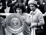 VIRGINIA WADE.WIMBLEDON CHAMPION 1977
